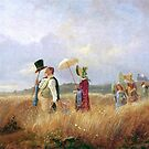 The Sunday Stroll, by Carl Spitzweg by edsimoneit