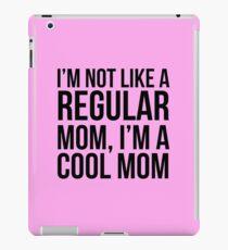 Nicht wie eine normale Mutter iPad-Hülle & Klebefolie