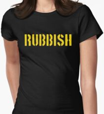 RUBBISH Women's Fitted T-Shirt
