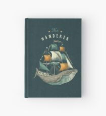 Whale | Petrol Grey Hardcover Journal