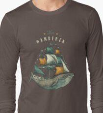 Whale | Petrol Grey Long Sleeve T-Shirt