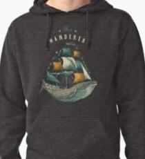 Whale | Petrol Grey Pullover Hoodie