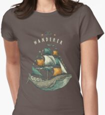 Whale | Petrol Grey Women's Fitted T-Shirt