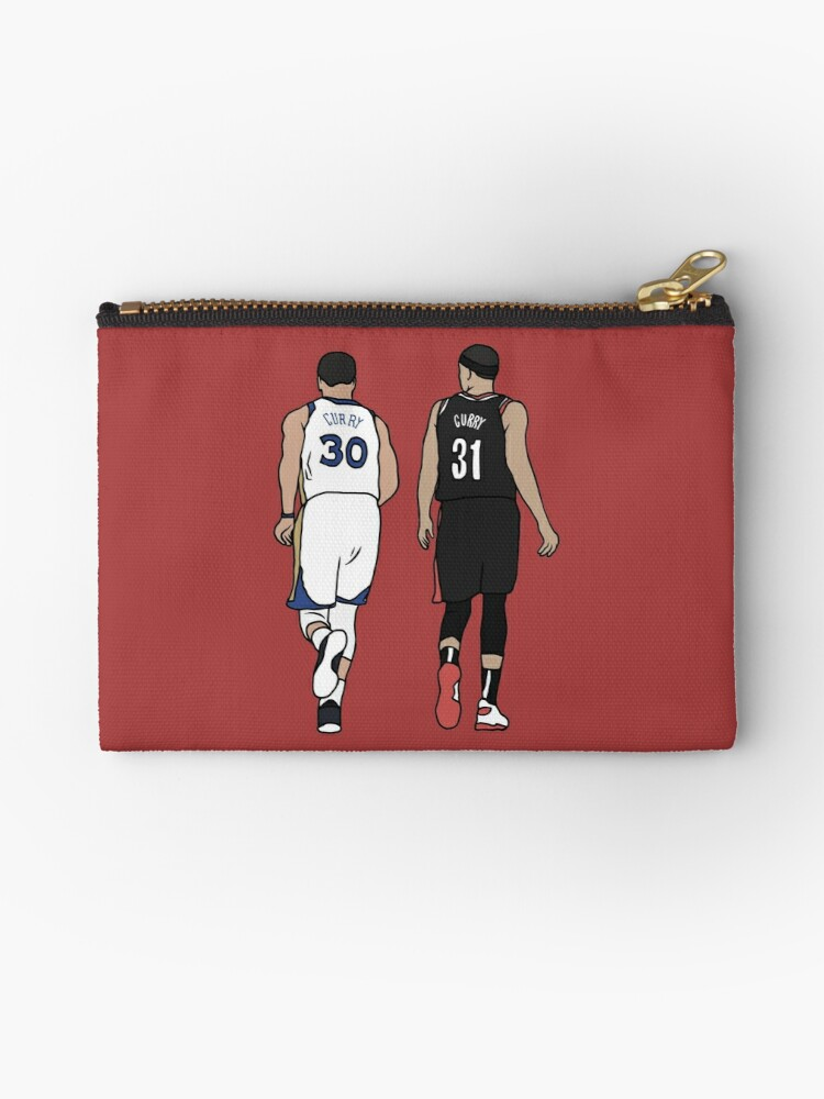 Curry zipped pencil case
