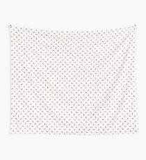 Dachshund Pattern - White Tapestry