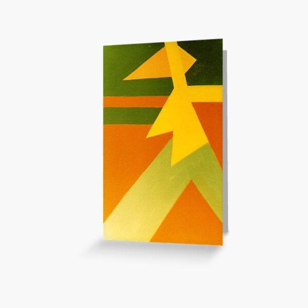women warrior series  Greeting Card