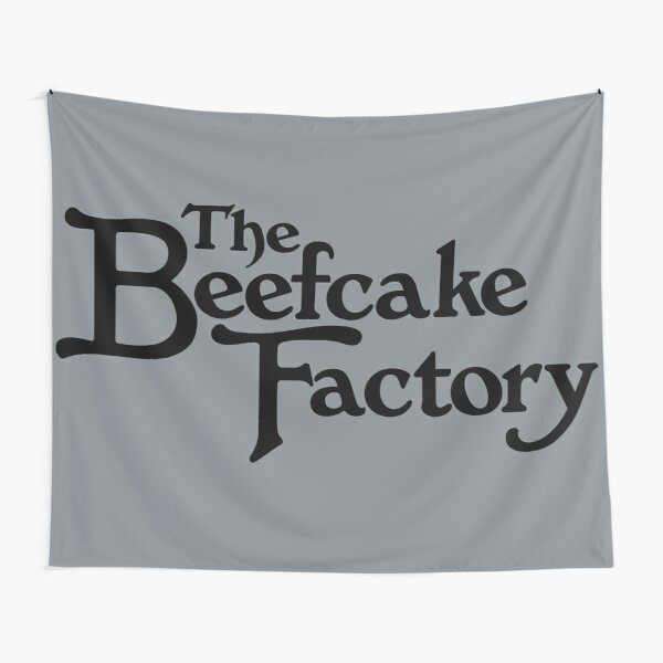 The Beefcake Factory Tapestry
