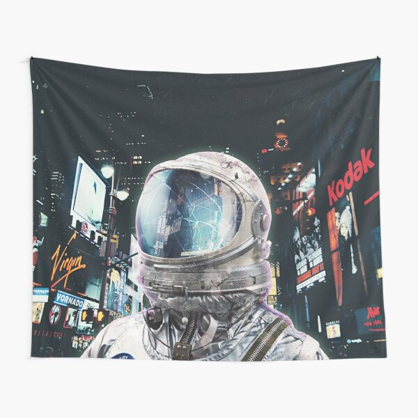 Night Life Tapestry