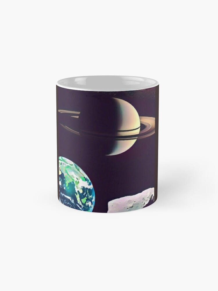 Alternate view of Space Frontier Mugs