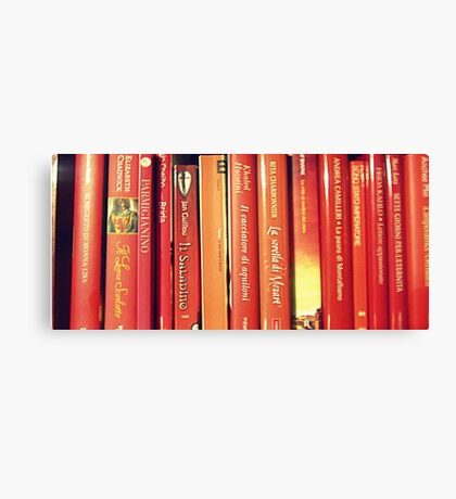 red books Canvas Print