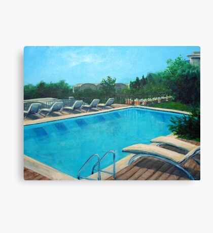 Cool waters Canvas Print