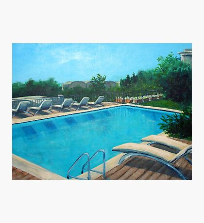 Cool waters Photographic Print
