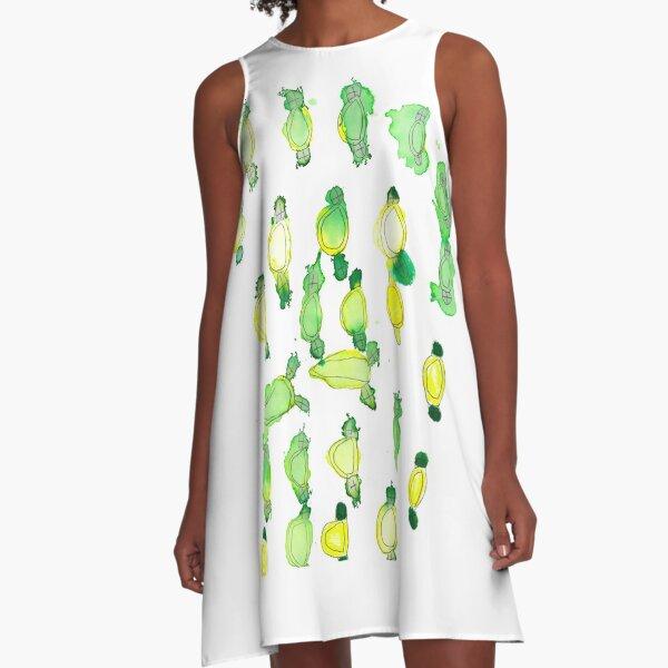 Lemon Lime and Bitters A-Line Dress