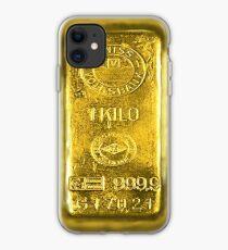 Gold Bar iPhone Case