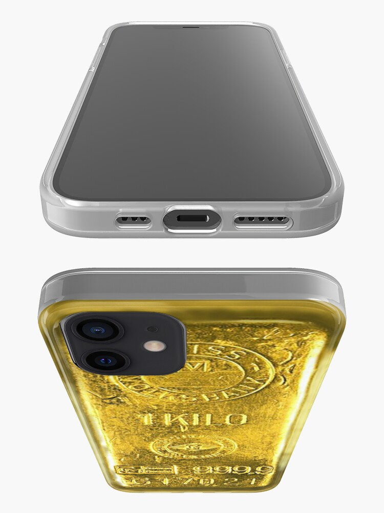 Alternate view of Gold Bar iPhone Case & Cover