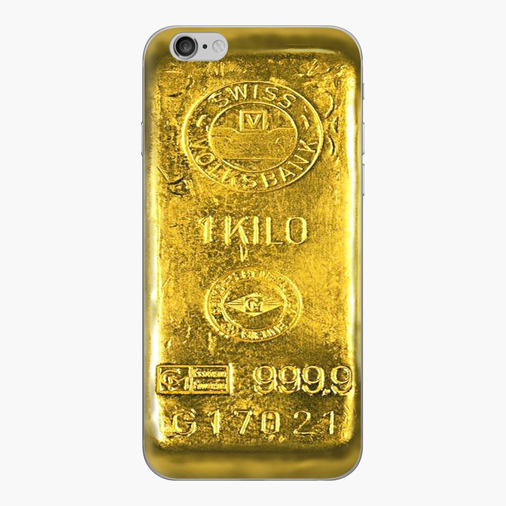 Gold Bar iPhone Skin