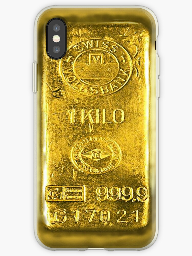 the best attitude 48d73 a1b67 'Gold Bar' iPhone Case by Brother Adam