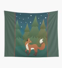 Forest Fox Wall Tapestry