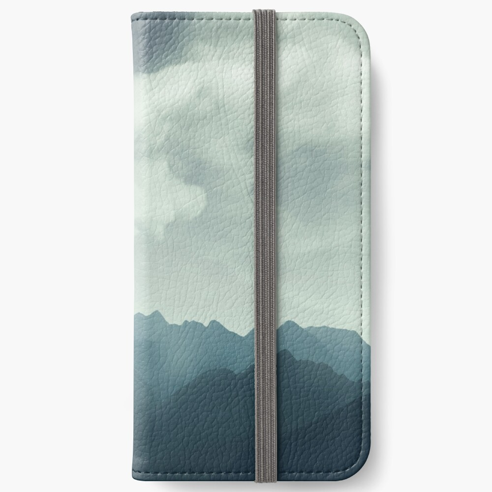 Mountain Shapes iPhone Wallet