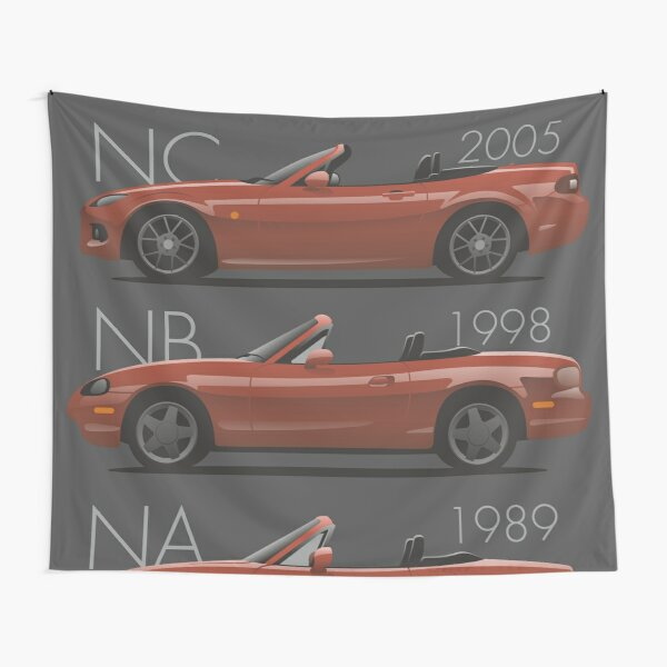 Mazda MX-5 evolution Tapestry