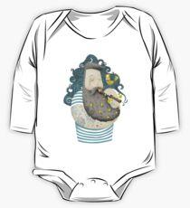 Vogel Baby Body Langarm
