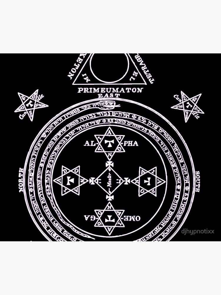 Magical Circle of King Solomon INVERTED by djhypnotixx