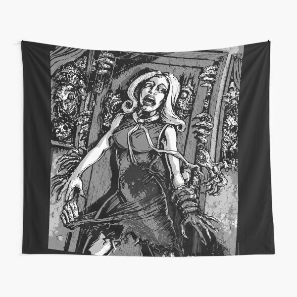 House of Zombies Tapestry