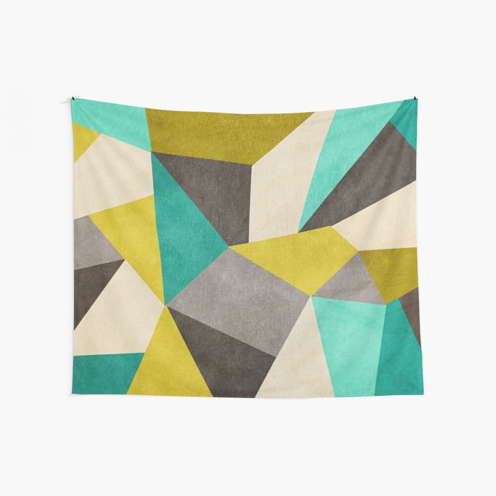 Polygons Wall Tapestry