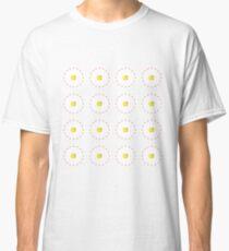 Tenpin Bowling Daisy Patch Classic T-Shirt