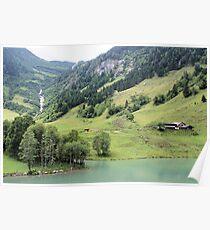 Landscape Austria like a postcard Poster