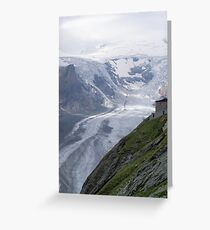 Glacier Grossglockner Austria Greeting Card