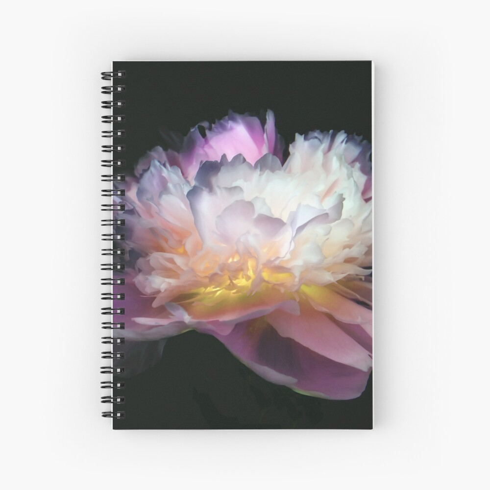 Cahier à spirale «Inverted peony»