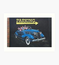 Some Drivers Are So Pig-Headed Art Print