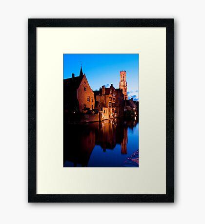 Medieval Bruges Framed Print