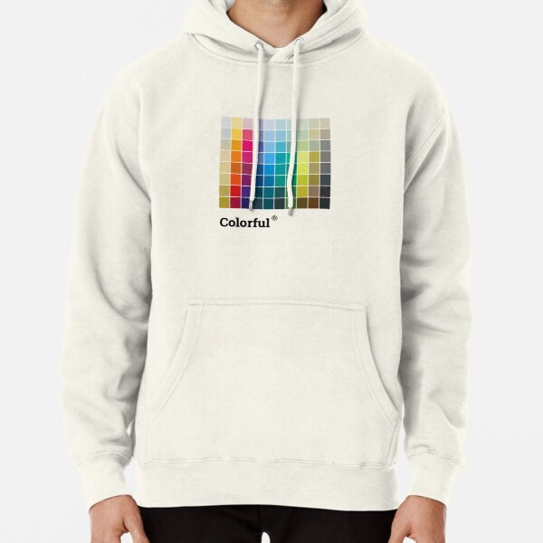 Colorful Soul - All colors together Pullover Hoodie