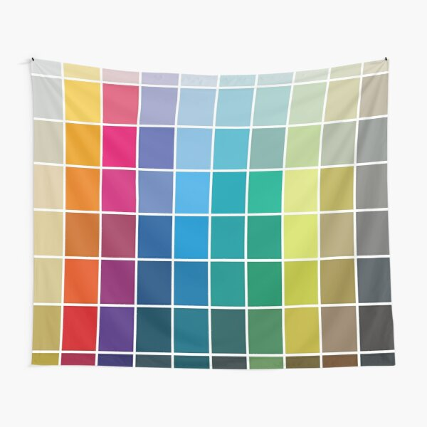 Colorful Soul - All colors together Tapestry