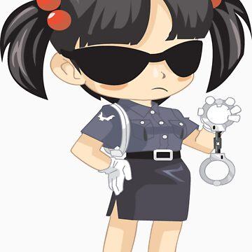 Police Girl by jagrolet