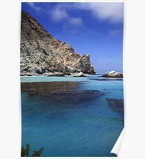Seal Rocks 2- Catalina Island- California-USA Poster
