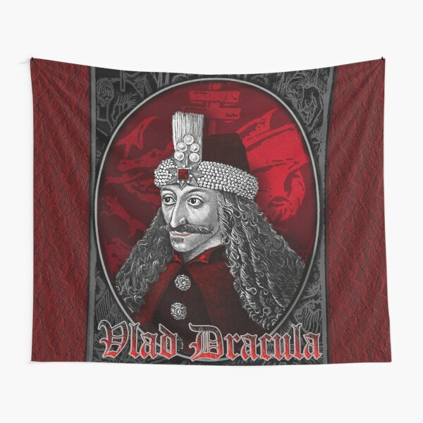 Vlad Dracula Gothic Tapestry