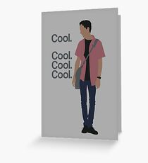 Cool... Cool. Cool. Cool. Greeting Card