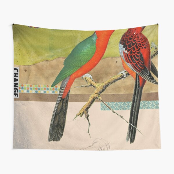 Animal Collection by Elo -- Birds Tapestry