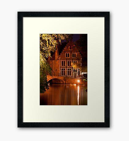 Historic Bruges Framed Print