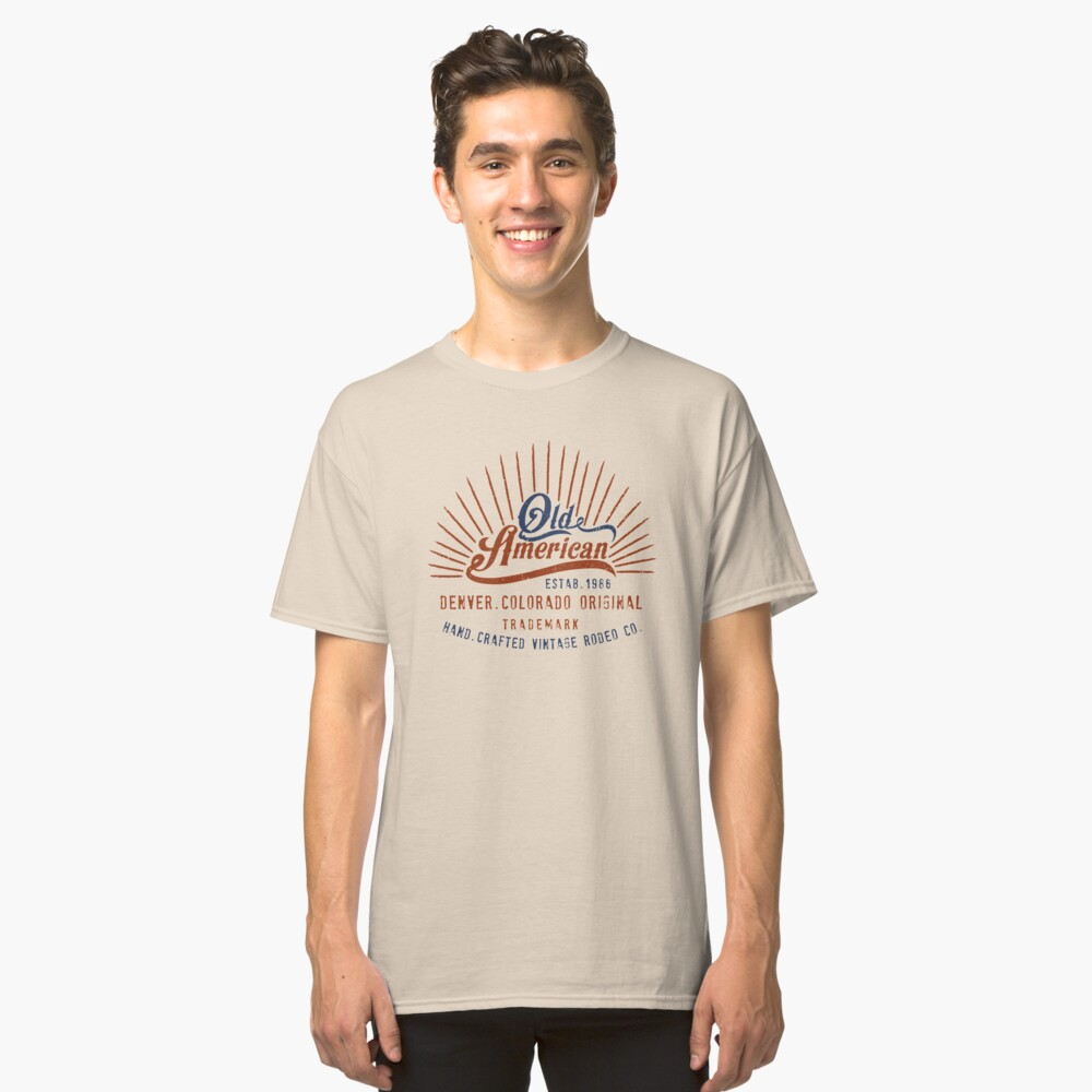 Denver Colorado Old American Classic T-Shirt