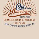 Denver Colorado Old American by Chocodole