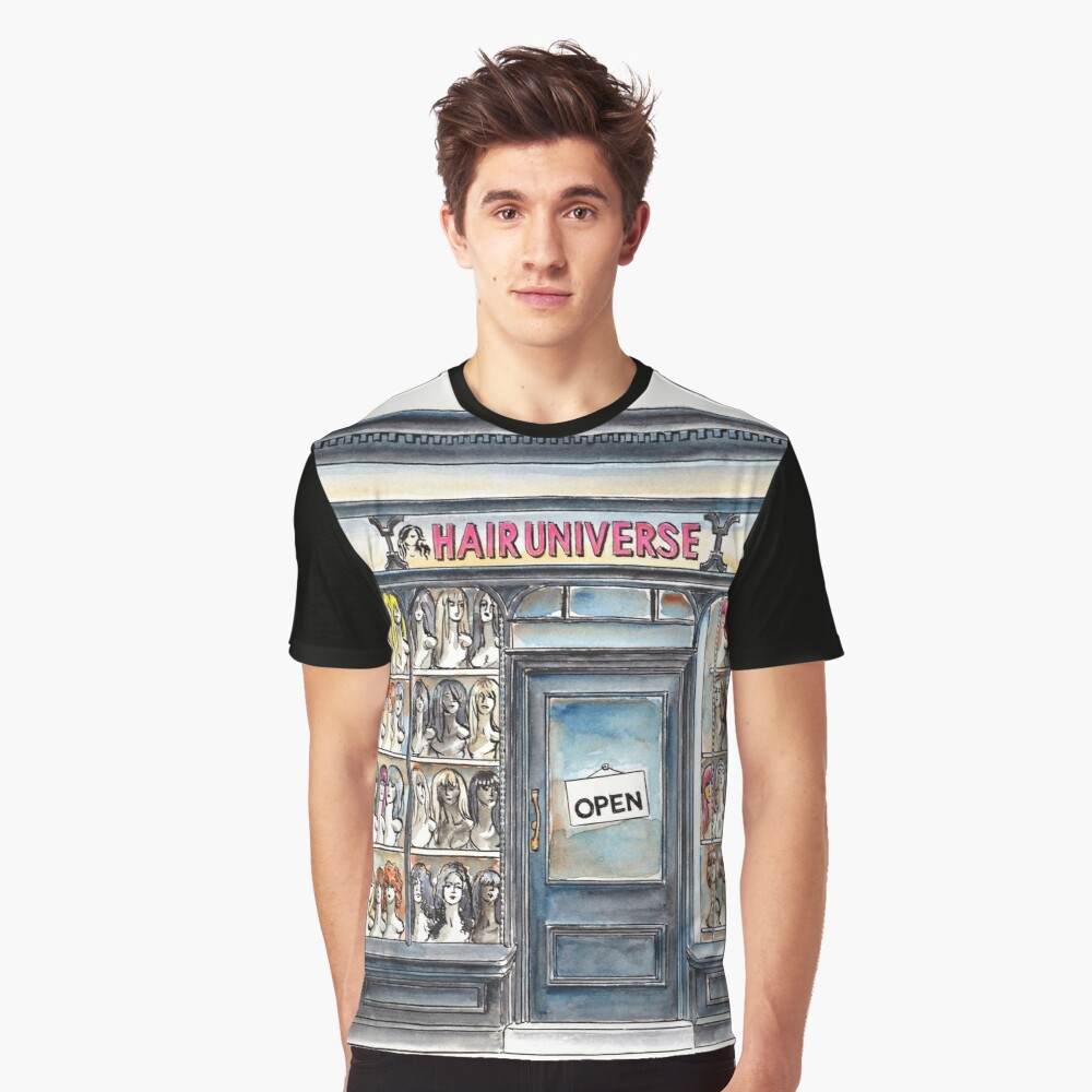 Hair Universe 2 Graphic T-Shirt