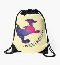 Journey Into Imagination with Figment Drawstring Bag