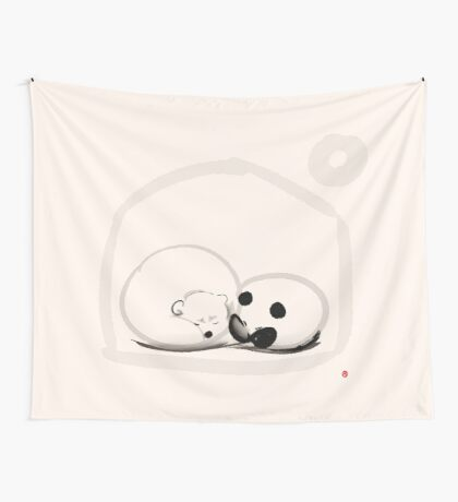 Moon And You Wall Tapestry