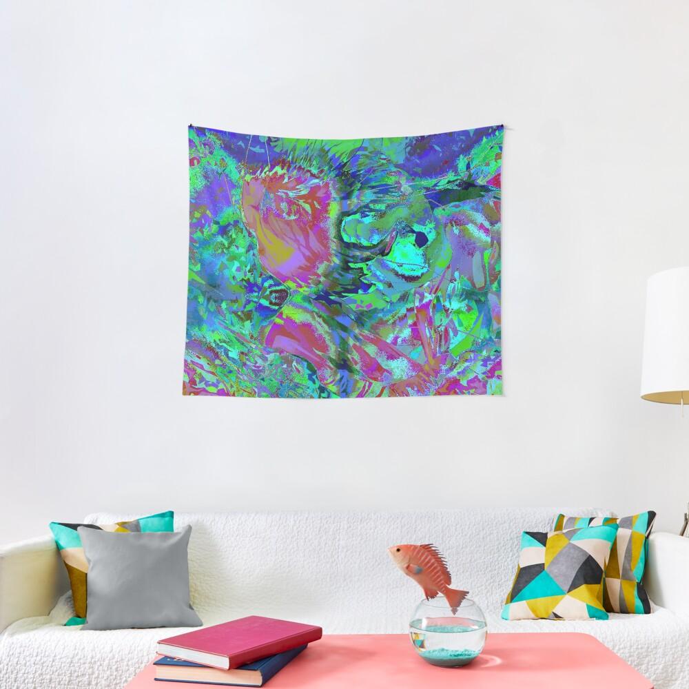 L'Homme Numérique - Boy 01 Tapestry