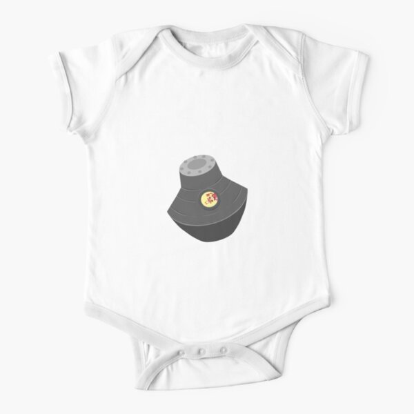 Space pod Short Sleeve Baby One-Piece