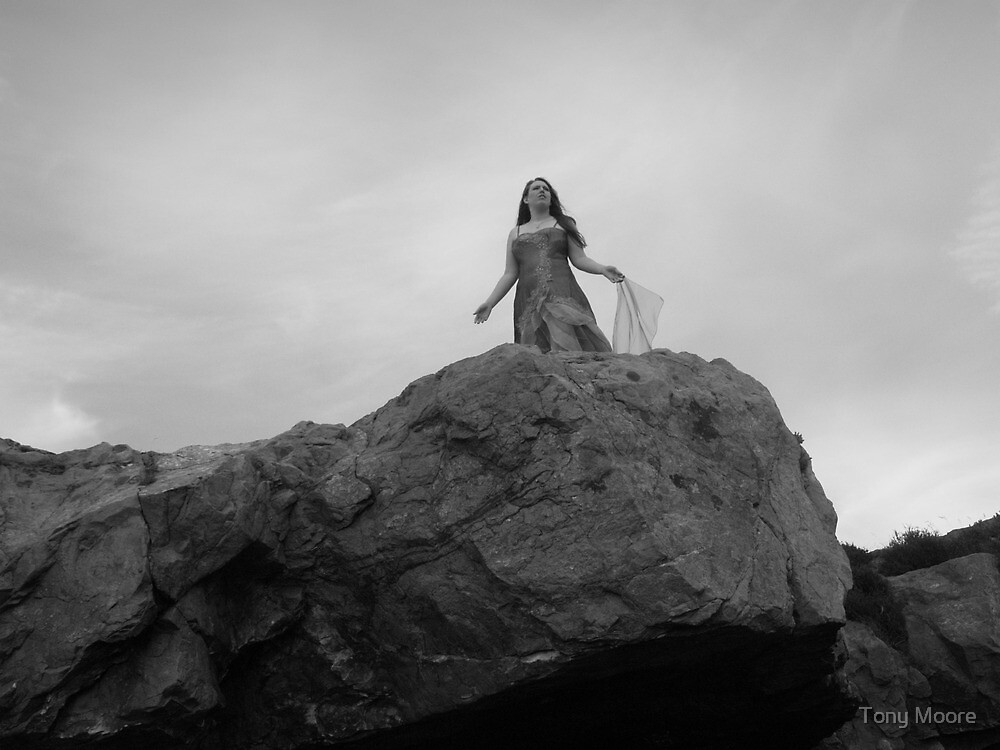 Lilli on the Rock by Tony Moore
